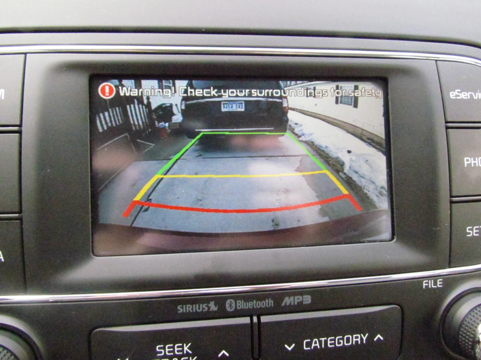 Kia Forte: Rearview camera