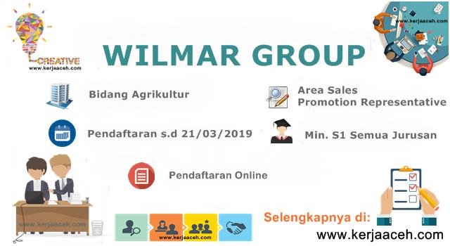 Lowongan Kerja Aceh Terbaru 2019 Gaji 3 juta keatas di  Banda Aceh Pada Cabang Wilmar Group