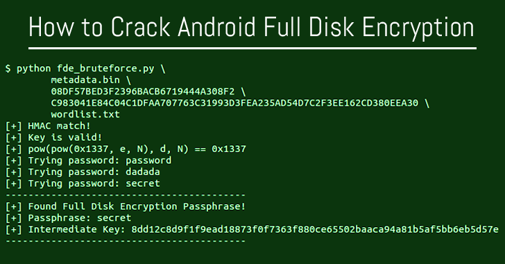 How to Crack Android Full Disk Encryption on Qualcomm Devices