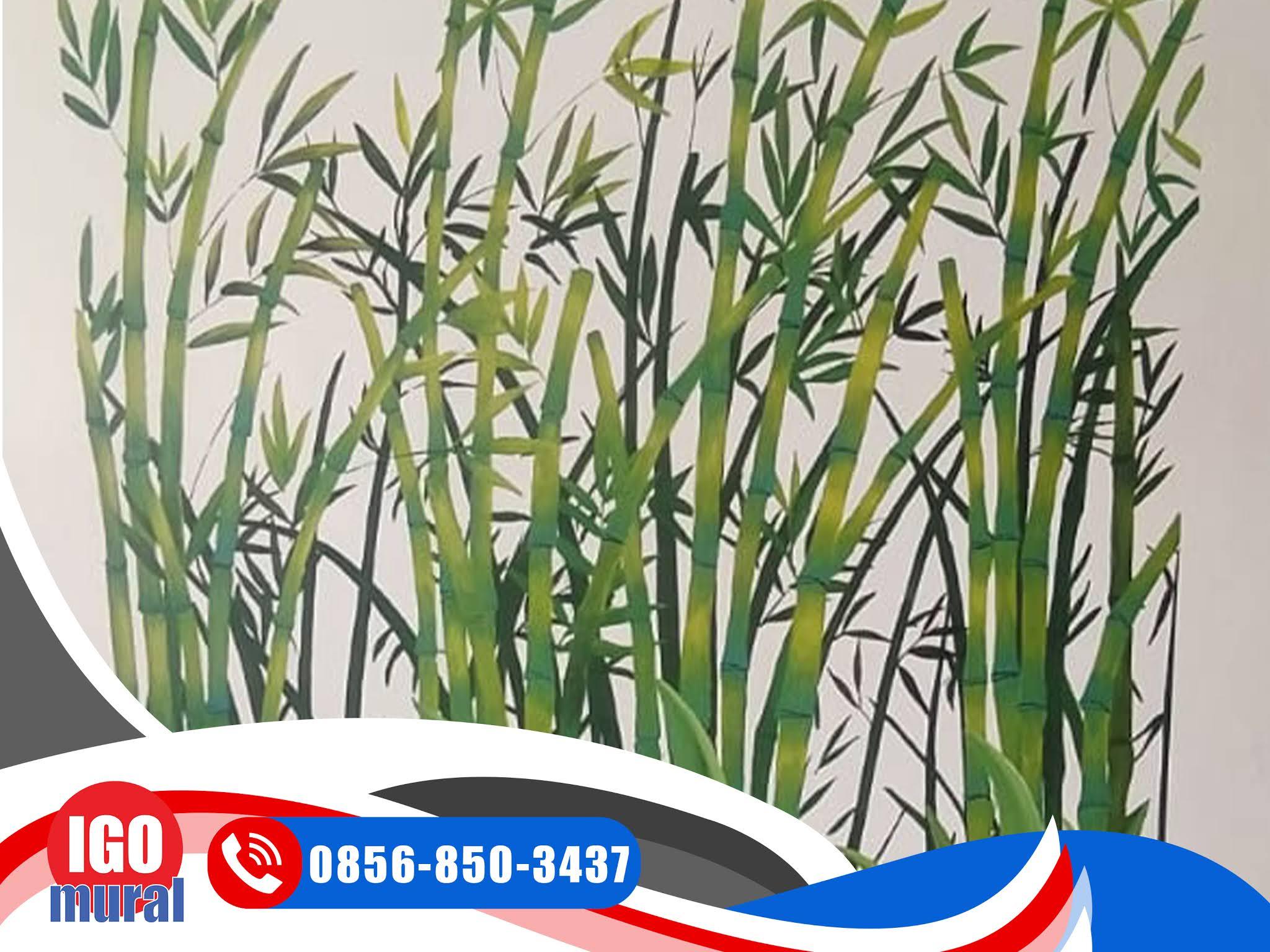 Lukisan Mural Bambu