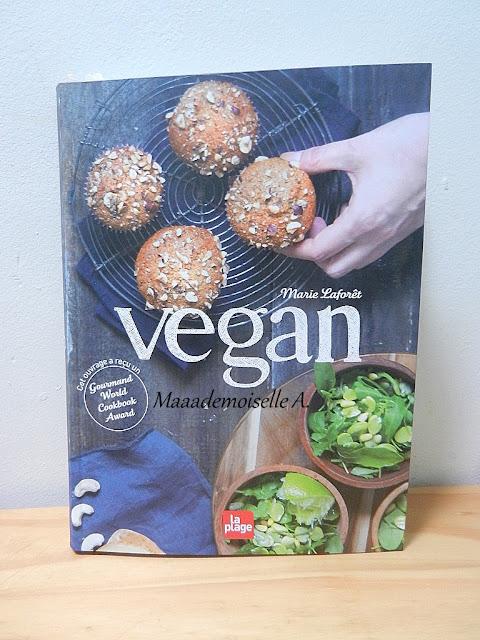 Livre Vegan de Marie Laforêt