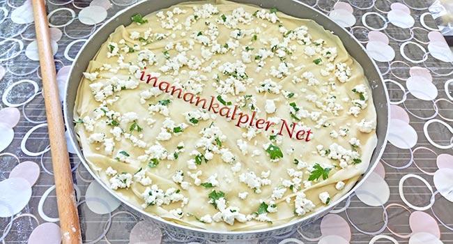 Peynirli El Açması Börek Tarifi- inanankalpler.net