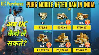 How To Buy UC Pubg Mobile After Ban In India | Buy Royale Pass Pubg Ban