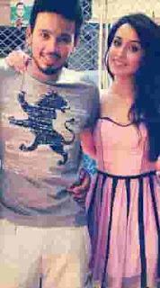Shraddha Kapoor With Rohan Shrestha