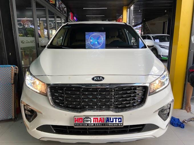 KIA SORENTO LẮP BI LASER XLIGHT V20L TẠI HOA MAI AUTO - AUTO365 NHA TRANG