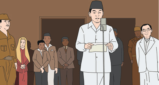 Peristiwa Menjelang dan Sesudah Pembacaan Teks Proklamasi
