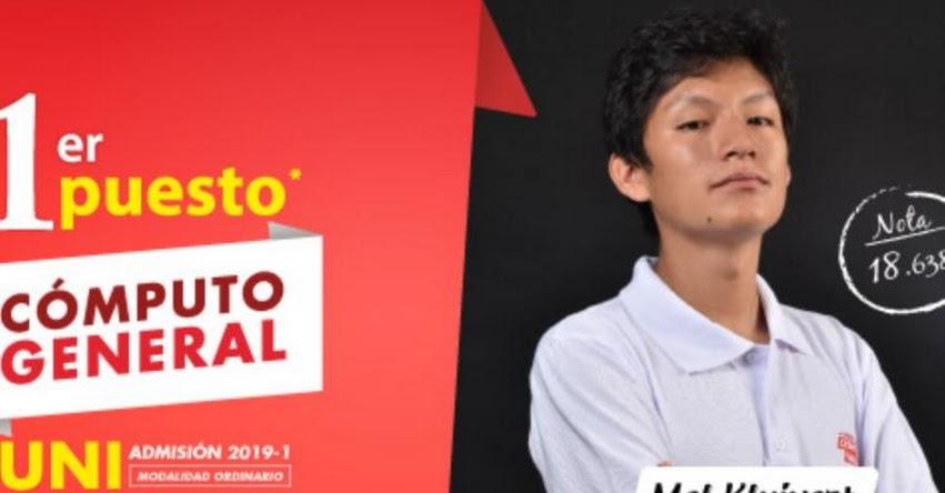 MEL KLUIVERT CAPCHA CHANCA: Joven huancaíno de 16 años logró primer puesto en examen de admisión a la Universidad Nacional de Ingeniería - UNI - www.uni.edu.ni