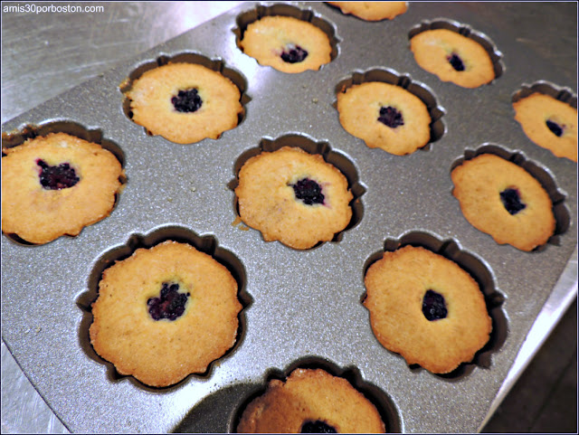 Mini Bundt Cakes de Moras en los Moldes