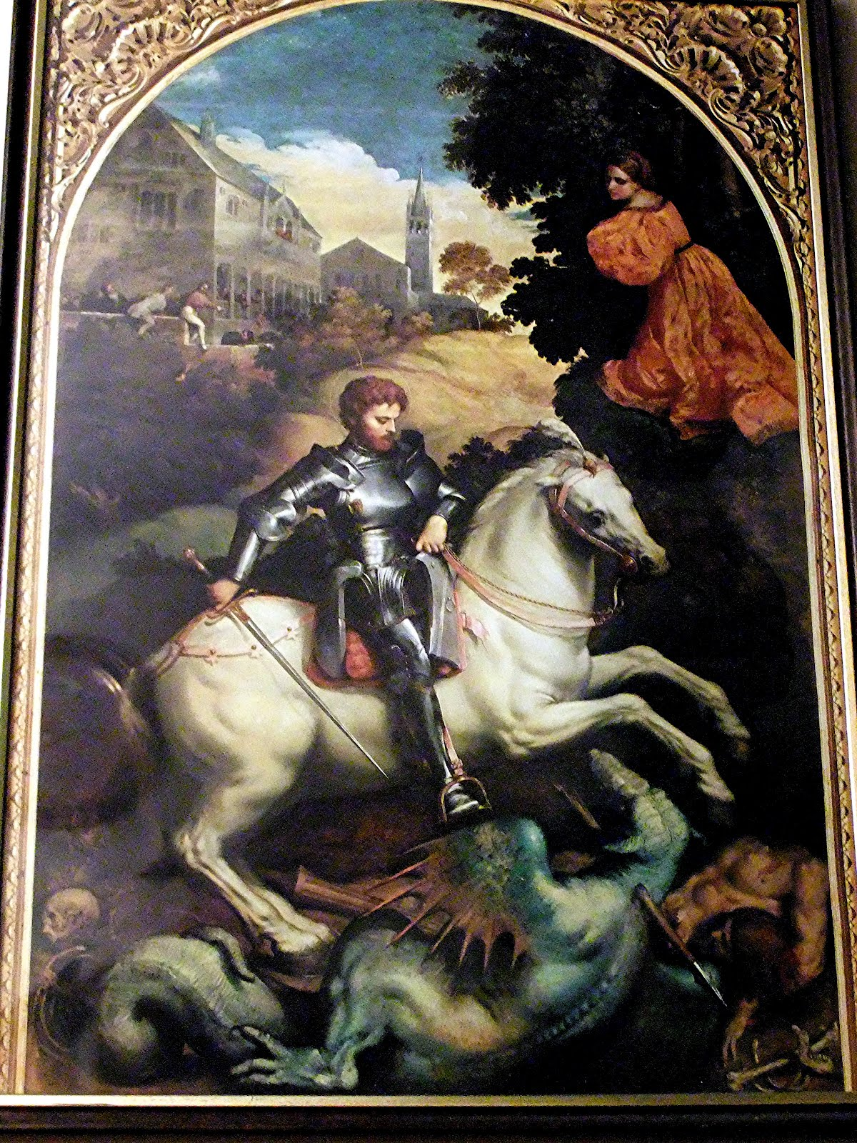 St George Dragons: ShukerNature: ST GEORGE AND A VERY POLYMORPHIC DRAGON