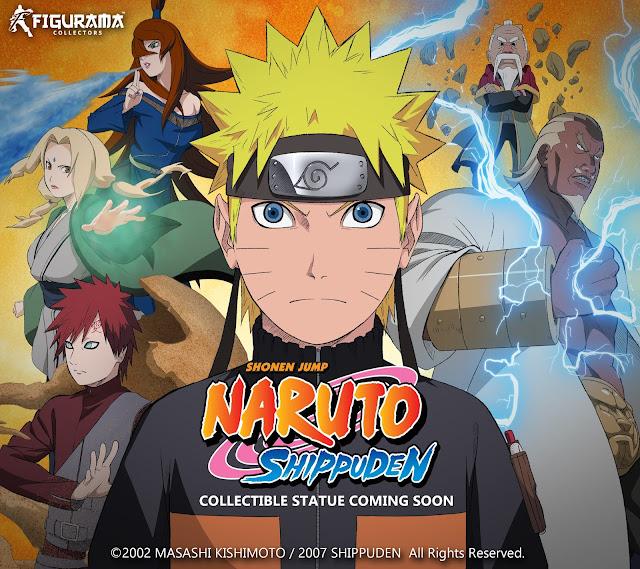 Figurama Collectors licencia Naruto Shippuden.
