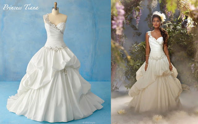 6339637251a5 Tiana from The Princess and the Frog is spectacular in an asymmetrical  taffeta gown