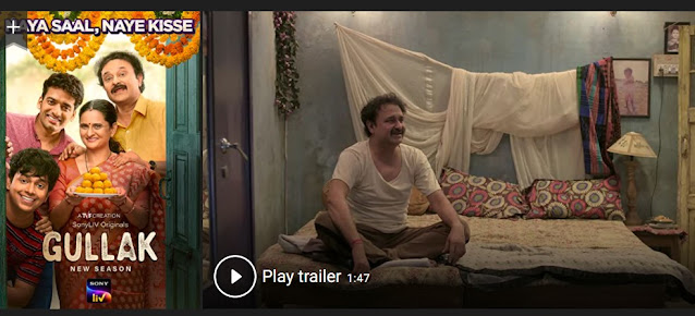 Play Gullak (2019) Indian Web Series Trailer online for free