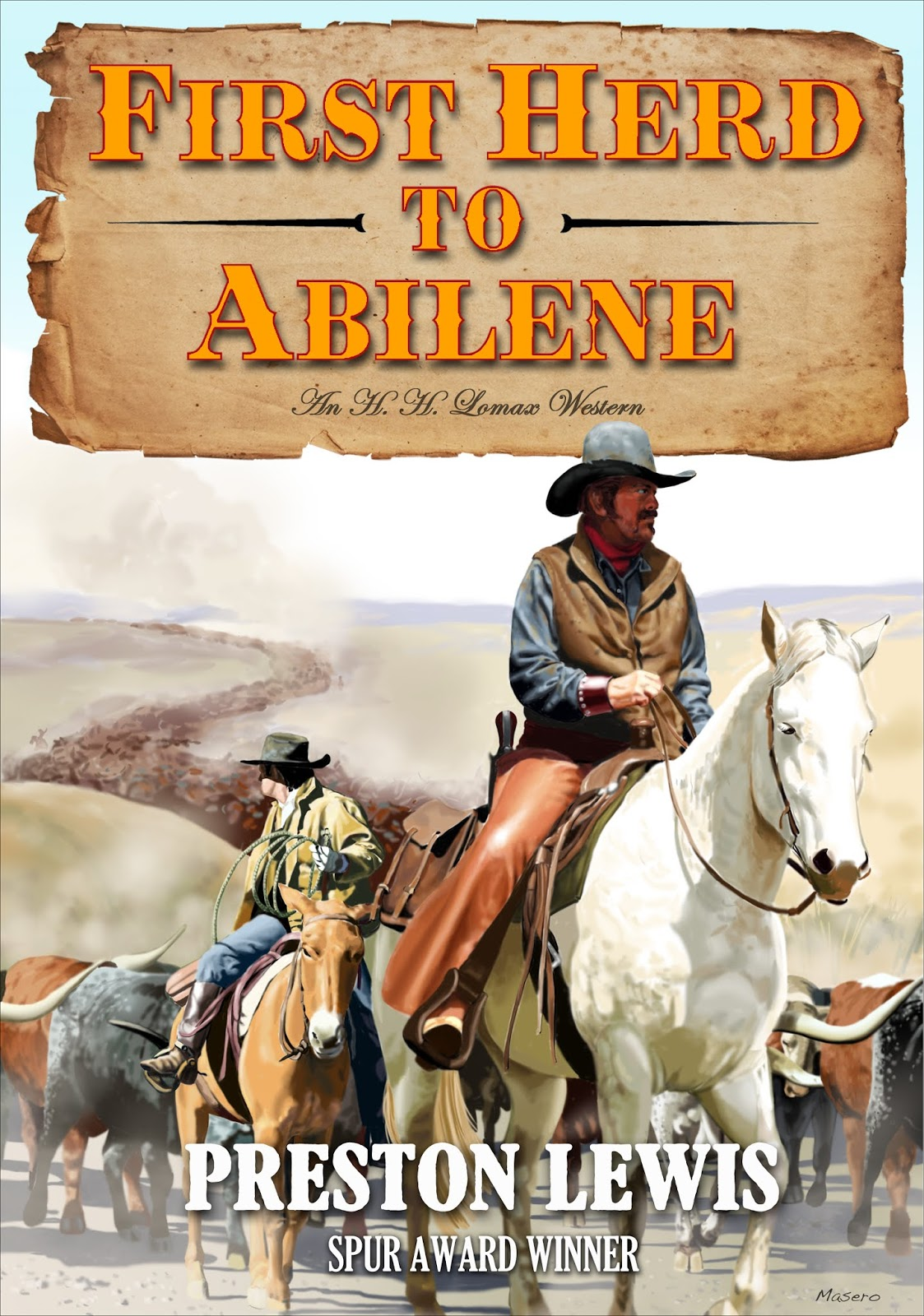 First Herd to Abilene book cover