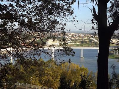 Vista do rio Douro e da ponte do Freixo