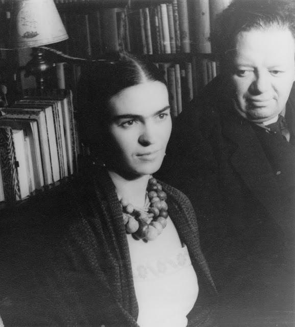 Frida Kahlo y Diego Rivera, 1932