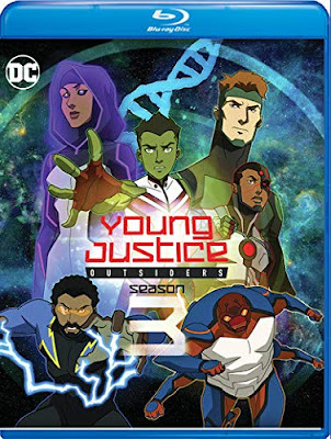 Young Justice Outsiders Season 3 Bluray