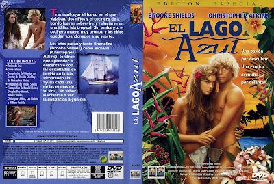 Carátula, cover, dvd: El lago azul | 1980 | The Blue Lagoon