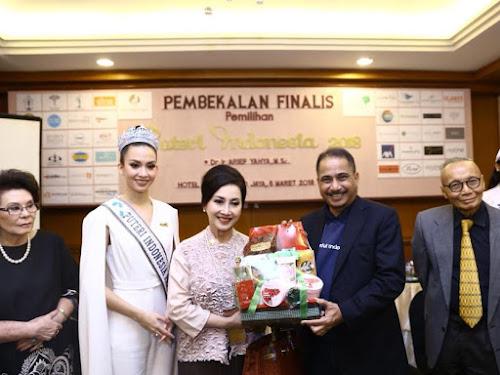 Pembekalan Finalis Putri Indonesia 2018