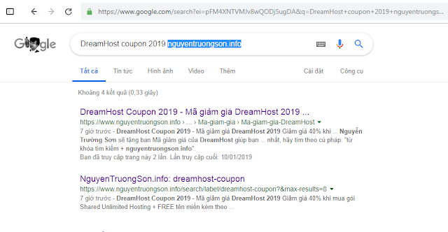 DreamHost Coupon 2019 nguyentruongson.info