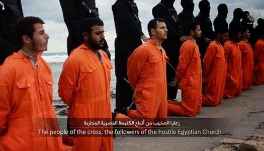 El Estado Islámico decapita cristianos