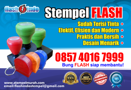 stempel warna flash