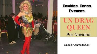 Espectáculo Drag queen Gabrielle para eventos Navideños.