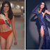 Kisses Delavin stuns in red and blue swimsuit and evening gown at Miss Universe prelims