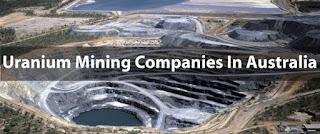 Uranium Mining Companies In Australia