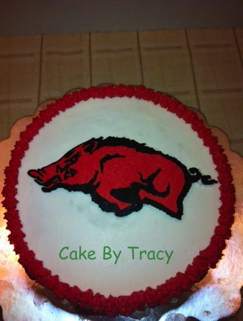 Razorback Wedding Cake