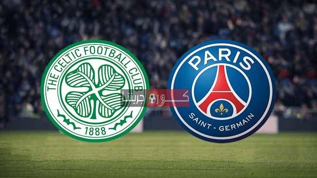 مشاهدة مباراة باريس سان جيرمان وسيلتك بث مباشر اليوم 21-7-2020