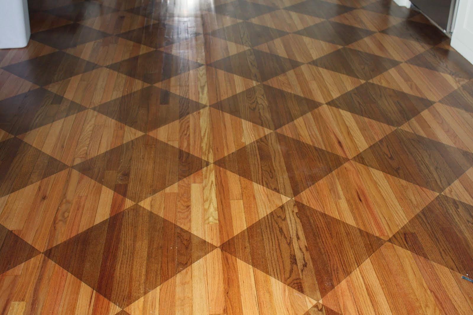 model lantai kayu unik