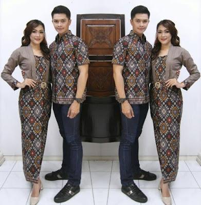 Baju Kebaya Batik Couple Remaja