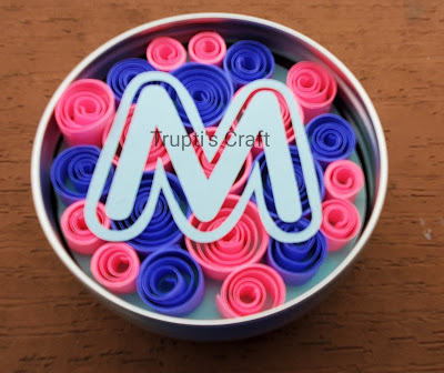 Paper Quilling Magnet