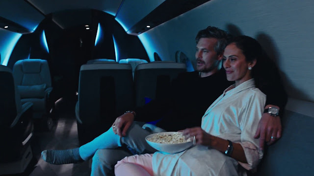 Private jet provides Luxury