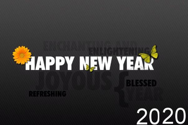 Happy New Year 2020 HD Wallpaper Image Greetings and Picture