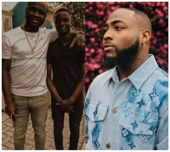 Davido started with the promise he made to his late aides, Obama's son, Malik