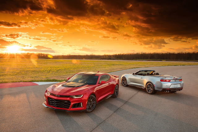 Chevrolet Debuts the 2017 Camaro ZL1