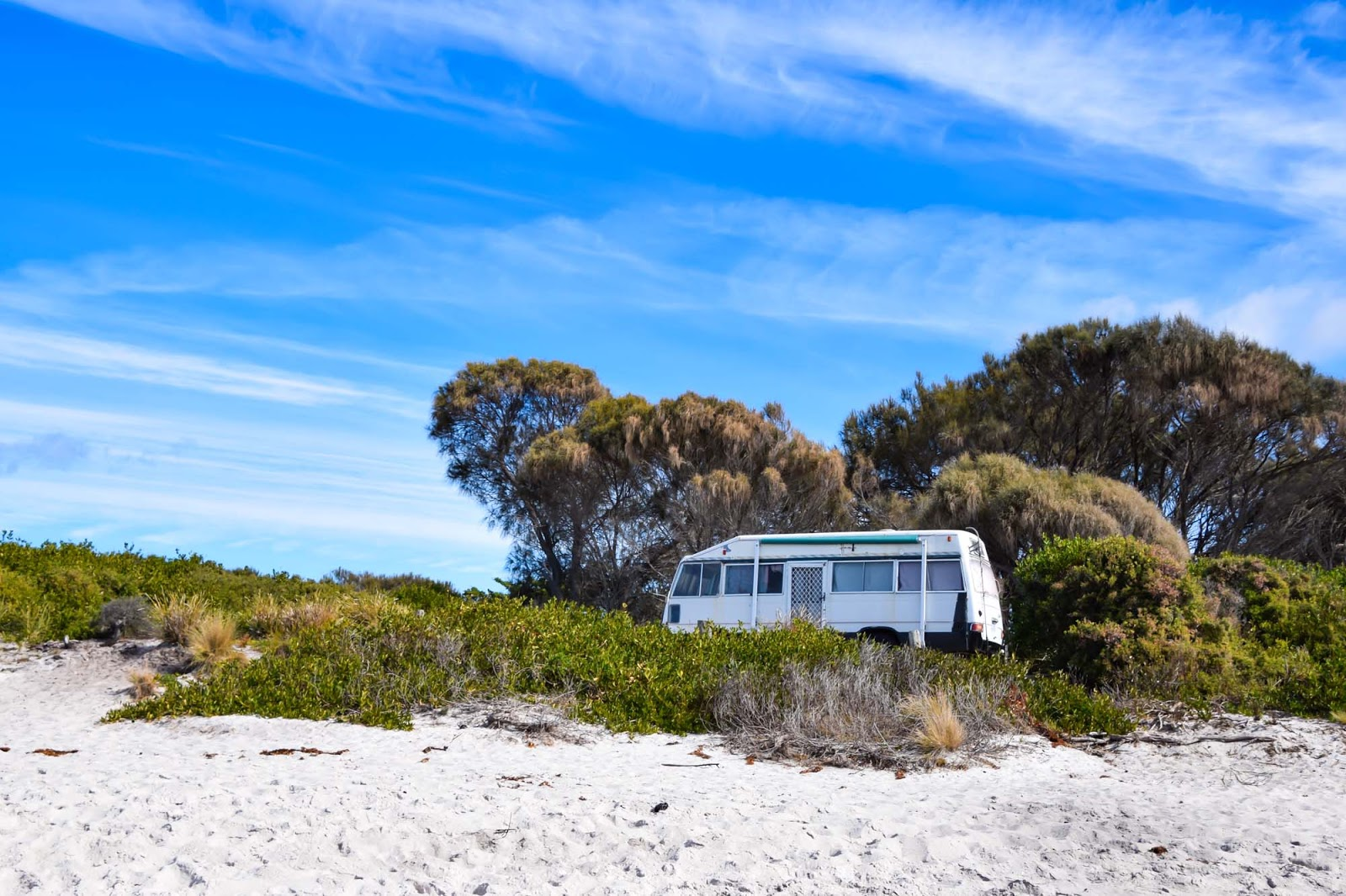 bay of fires camping