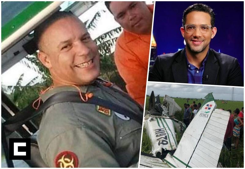 Video: Piloto que murió en avioneta era hermano de Sergio Carlo