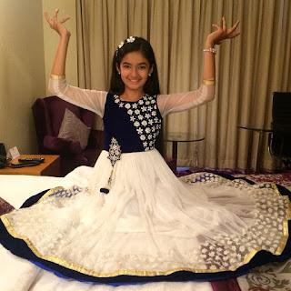 Anushka Sen Child Photo