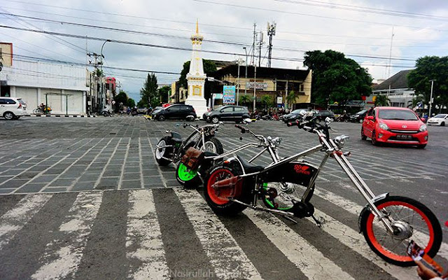 Sepeda Listrik Gede ini mirip dengan Moge