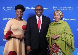 UN Award:Peter Obi Celebrates Chimamanda, Calls For Inclusion Of Works In School curricula