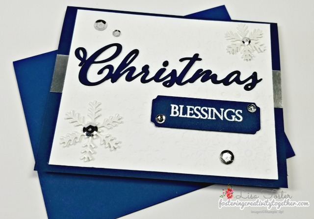 #merrychritsmastoall #blizzarddie #embossing christmascard #stampin up