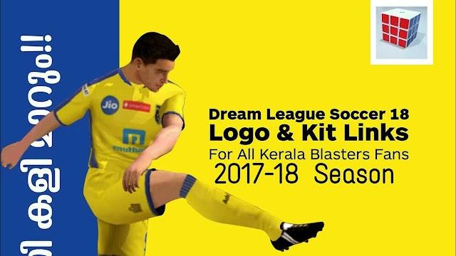 Get Kerala Blasters admiral kit for Dream league Soccer 2018