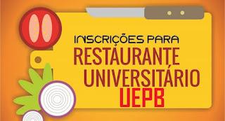 PROEST-UEPB lança edital para Programa Restaurante Universitário com oferta de 120 vagas