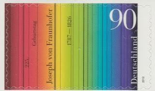 Germany 2012 Joseph von Fraunhofer self-adhesive
