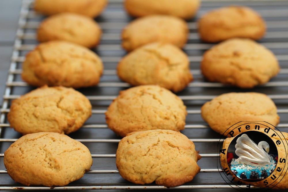 Cookies à l'orange et au beurre de cacahuètes