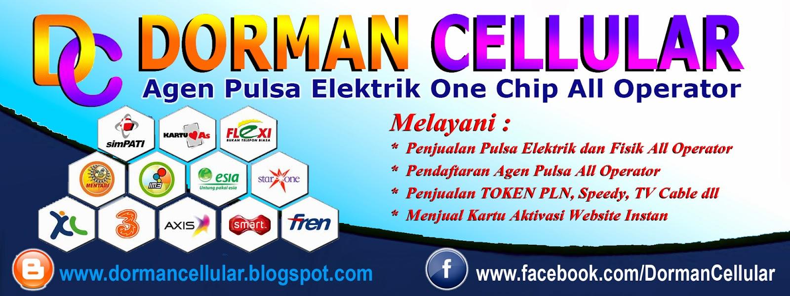 DORMAN CELLULAR: Contoh Banner Spanduk Pulsa