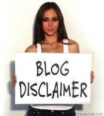Health disclamers