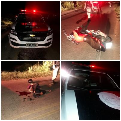 Polícia prende suspeito de assalto na noite deste domingo (16), em Patos